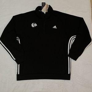 Men's large Adidas X Chicago Blackhawks pullover
